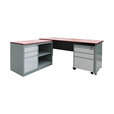 Meja Kerja Metal meja kantor besi hefeng furniture