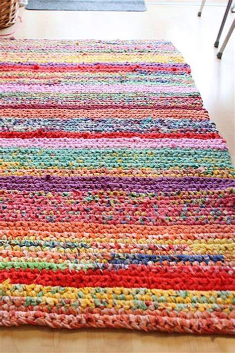 Handmade Crochet Rug How To Crochet A Rag Rug