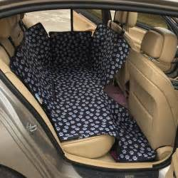Car Seat Covers For Dogs Pattern Oxford Fabric Paw Pattern Car Pet Seat Covers Waterproof