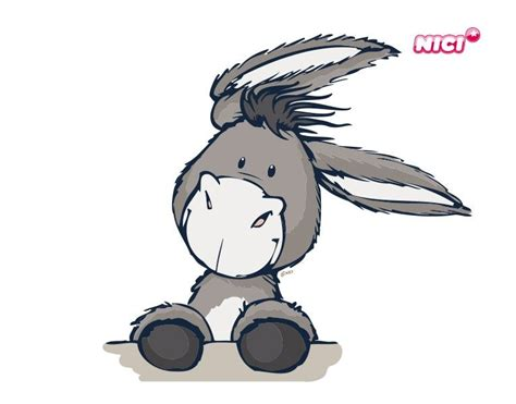 Wandtattoo Kinderzimmer Esel by Wandtattoo Nici St 252 Rmisch Esel Zeichnen Und