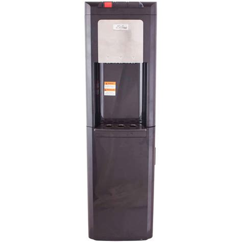 Water Dispenser With Cooler glacial taller black top load water dispenser water cooler with refrigerator ebay
