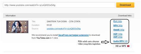 download youtube link cara mudah download video youtube tanpa software arif