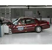 2003 Lincoln Town Car Moderate Overlap IIHS Crash Test  YouTube