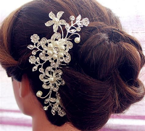 Wedding Hair With Brooch by Hair Comb Wedding Haircomb Bridal Comb Wedding Hair