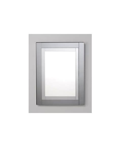 Robern Medicine Cabinet With Magnifying Mirror Robern Mt24d4cdgn Mirrored With Tinted Gray Mirror Frame