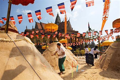 visitor information for khmer new year traditions in cambodia