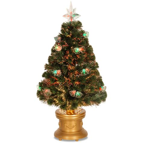 national tree company 36 quot fiber optic double bell tree