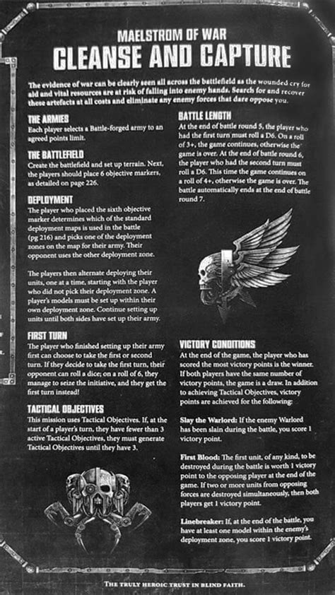 40K: New Missions & Deployment Rules - Bell of Lost Souls