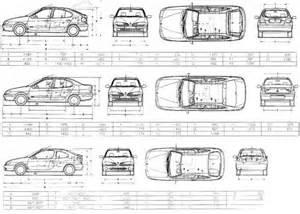 Renault Megane 2 Dimensions The Blueprints Blueprints Gt Cars Gt Renault Gt Renault