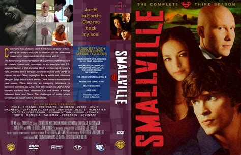 Sale Dvd Smallville Season 3 smallville season 3 tv dvd custom covers 6920smallville season 3 dvd covers
