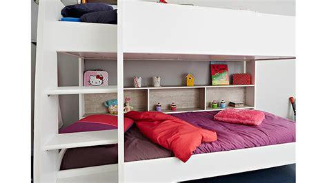 in etagenbett etagenbett hochbett kinderbett in wei 223 und grau loft