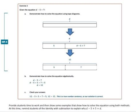 diagram to solve subtraction solving one step equations activity tessshebaylo