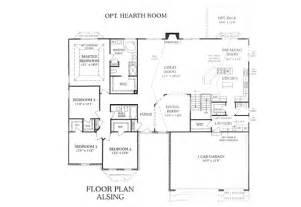 Floor Plans 3 Bedroom Ranch by Whalen Custom Homes Alsing 3 Bedroom St Louis Ranch