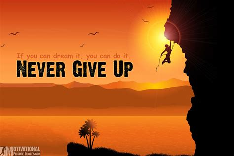 never give up i think therefore i yam keep on keeping on