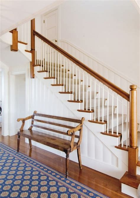 cape cod compound style staircase boston by