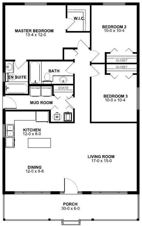 house plans with living room in front economical rancher house plan hunters
