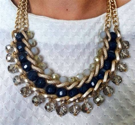 bisuteria con hilo tejido y cristal 1000 images about collares bisuter 237 a fina on pinterest