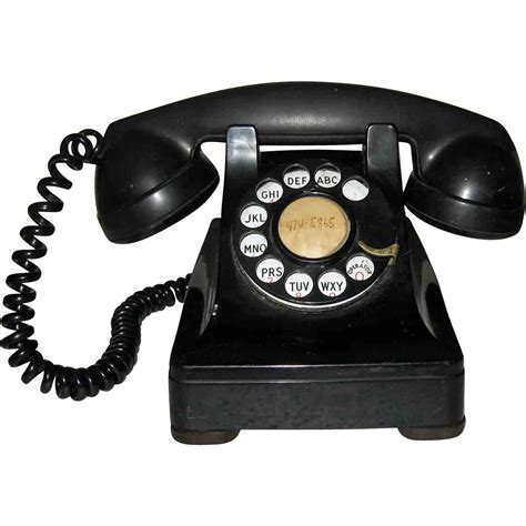 Bell Phone Lookup Bell System Western Electric F1 1940 S Bakelite Phone Sold On Ruby