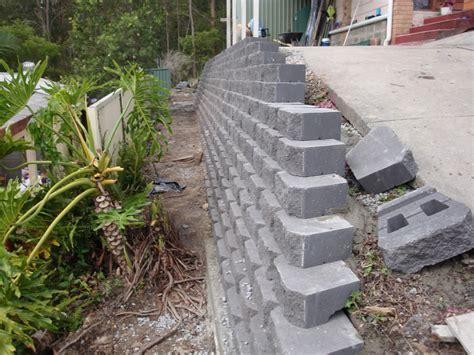 Australian Retaining Walls Diamond Concrete Block Garden Wall Concrete Blocks