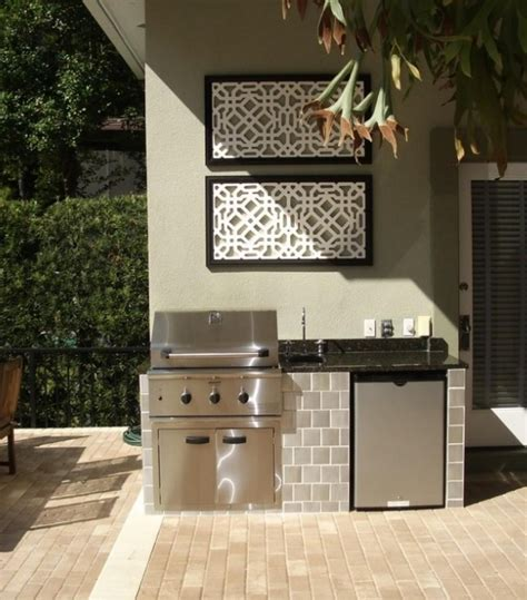 small outdoor kitchen design outdoor kitchen ideas for small spaces trends images