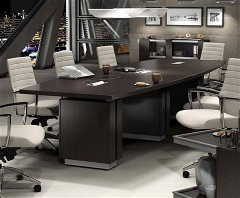 Zira Conference Table Zira Collection Z48144be 12 Boardroom Table By Global