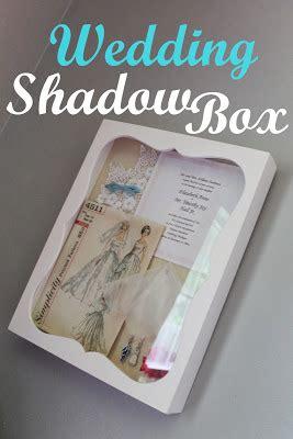 Wedding Box Haws hems and haws wedding shadow box