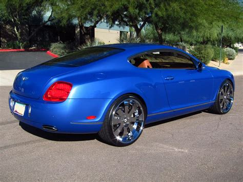 bentley coupe blue 2005 bentley continental gt 2 door coupe 137688