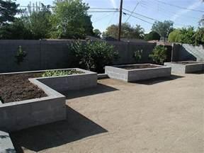 betonelemente garten raised garden bed concrete block flickr photo