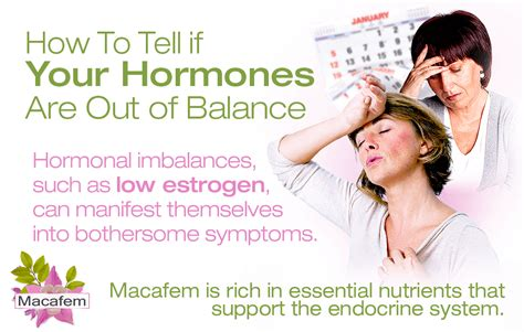 Get Smart Learn How To Tell If Your Guys Or by How To Tell If Your Hormones Are Out Of Balance Macafem