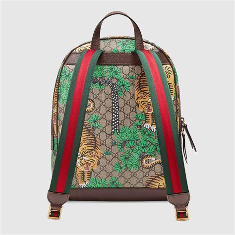 Garucci Bagpack Putih Kombinasi 2 gucci bengal gg supreme backpack gucci s backpacks 428027k5p2t8860