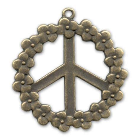 co fiorito pendente peace fiorito mm 40 bronzo x1 perles co