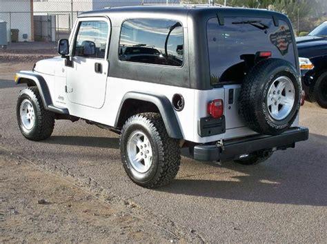 Jeep Wheelbase 2004 Jeep Wrangler Sport 4x4 Lj Extended Wheelbase In
