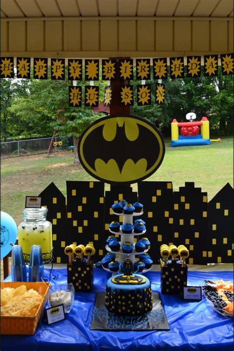 batman centerpieces ideas batman birthday decorations great ideas