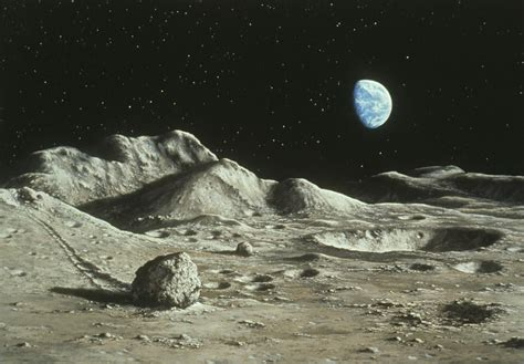 Lu Pesek surface of moon with earth www pixshark images galleries with a bite