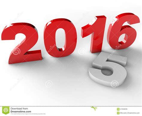new year 2016 white background new year 2016 stock illustration image 57353978