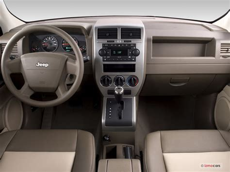 2008 Jeep Patriot Interior 2008 Jeep Patriot Pictures Dashboard U S News World