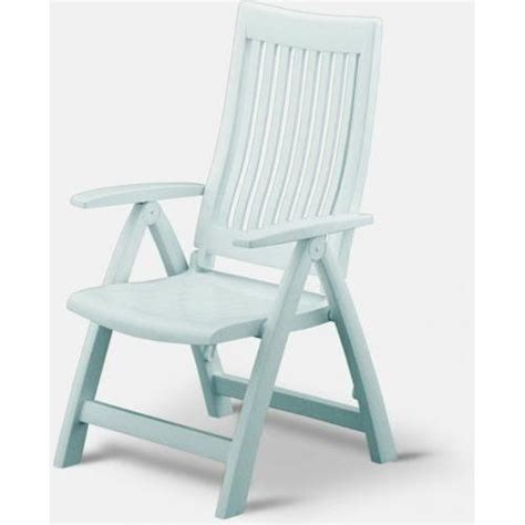 kettler roma resin high back folding and reclining chair