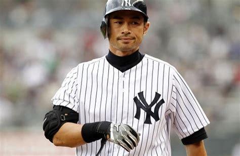 Yankees Ichiro Suzuki by Report Ichiro Suzuki Takes Big Pay Cut To Stay In New
