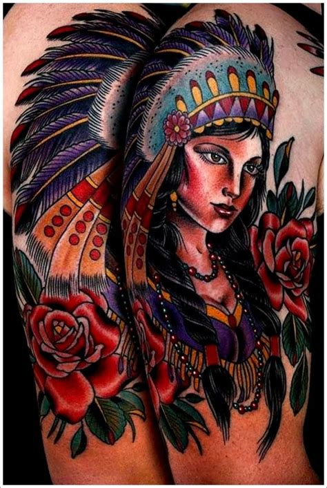 traditional native american tattoos 100 american tattoos