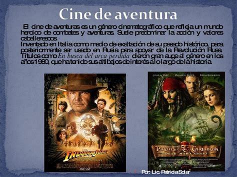 aventuras disfruta del cine generos de cine