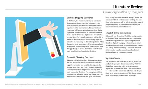 Product Design Literature Review by Literature Review Service Design