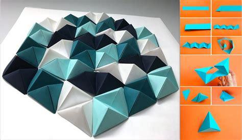 membuat pohon natal origami dekorasi kelas dari origami buat sendiri hiasan dinding