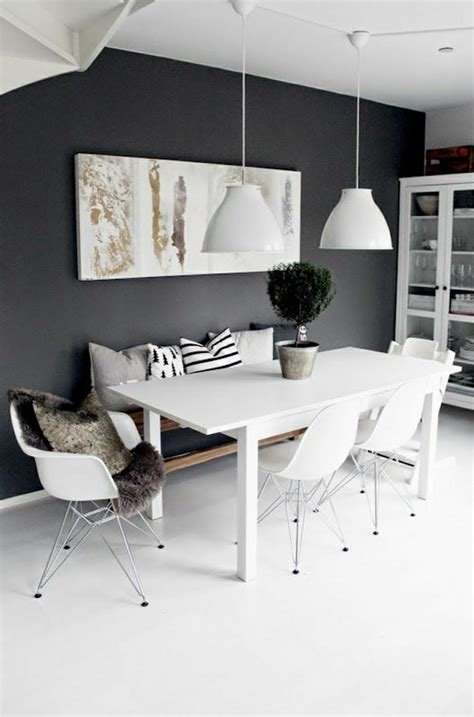 Black And White Dining Room Set by 10 Modern Black And White Dining Room Sets That Will