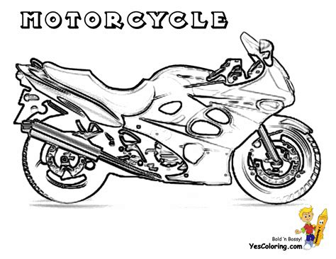 motorcycle coloring pages online free coloring pages of motorcycle chopper