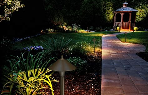Outside Landscape Lights Fx Luminaire Led Path Garden Outdoor Landscape Lighting