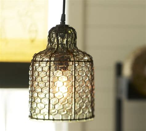 Chicken Wire Pendant Light 20 Ways To Light Up Your Backyard Page 2