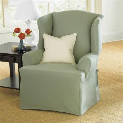 Discount Chair Slipcovers Wing Chair Slipcovers July 2011 If Finding The Best