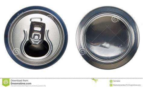 Liquid Bar Top Blue Aluminium Open Can And Bottom Can Stock Photo Image