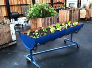 planter barrel on wheels matthew c mckee