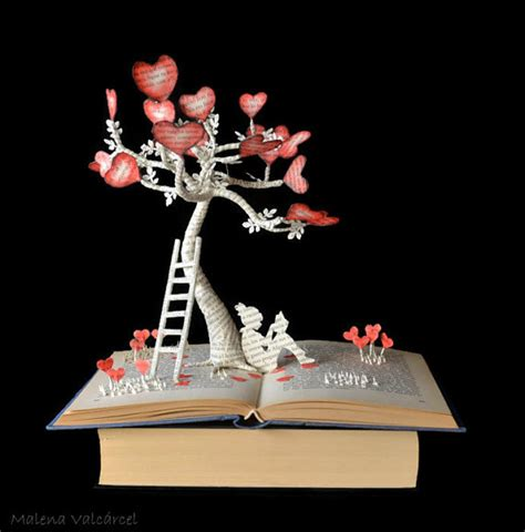 the sapling books the tree of book book sculpture altered book
